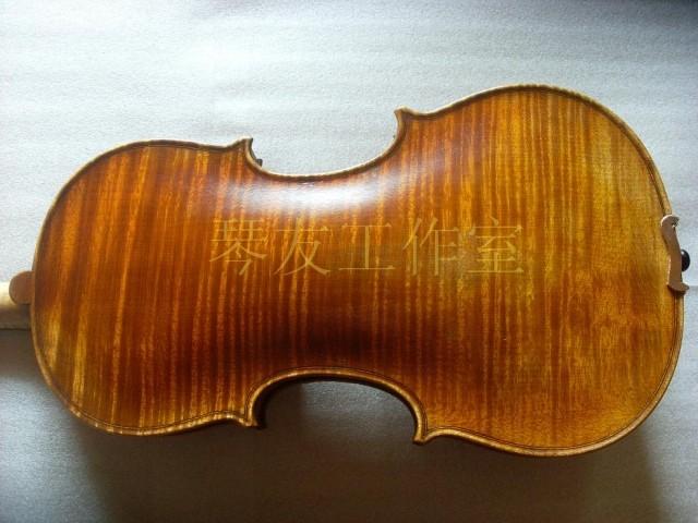 高档手工小提琴高级直视小提琴独板小提琴演奏频帕子草图片