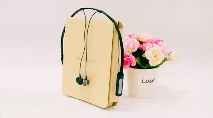 Promotion Bluetooth V4.1 earphone cheap wireless stereo headphone M1 with built in mic and magnetic earplug