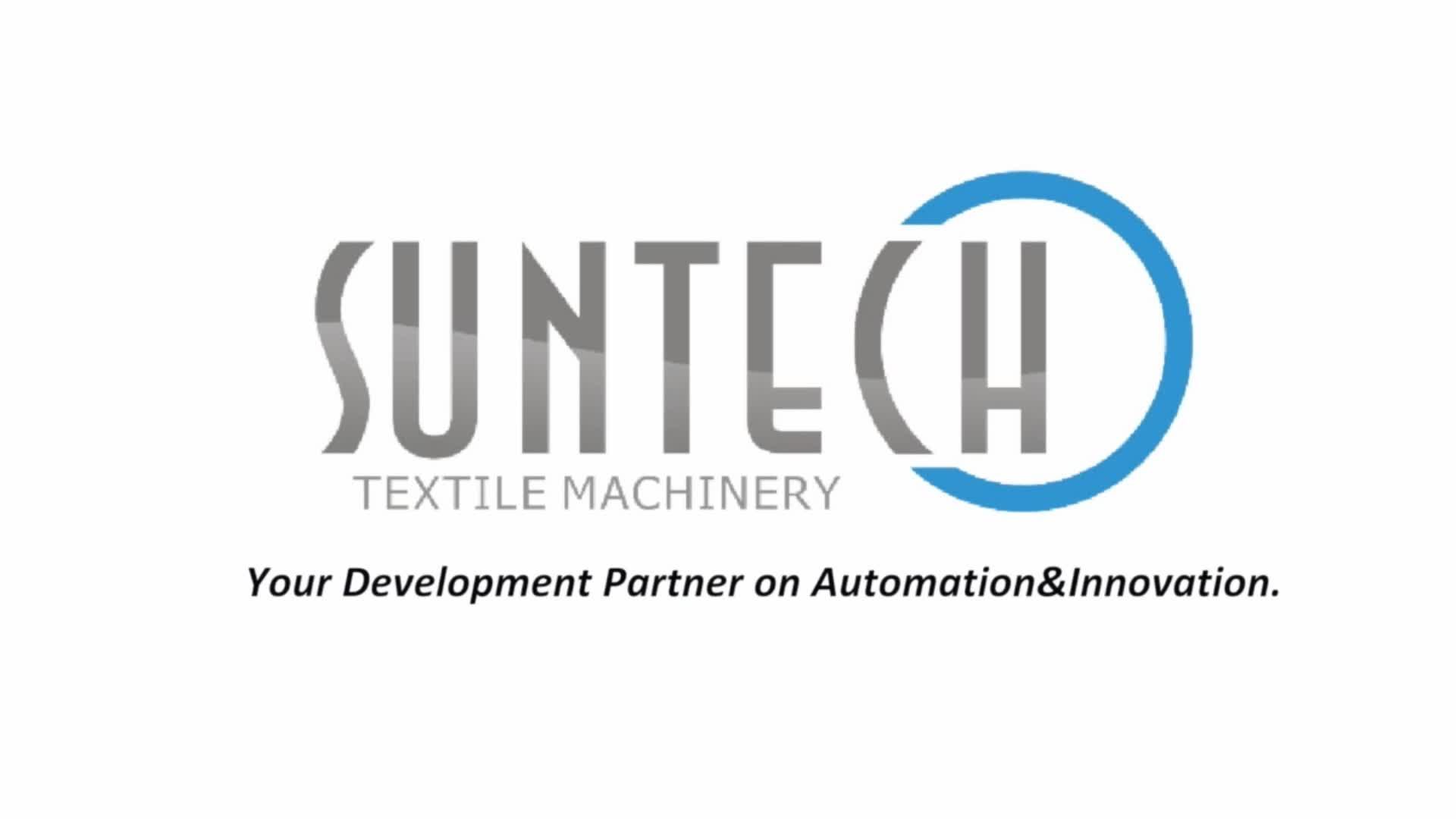 SUNTECH Textile Tubular Fabric Folding Sewing Machine