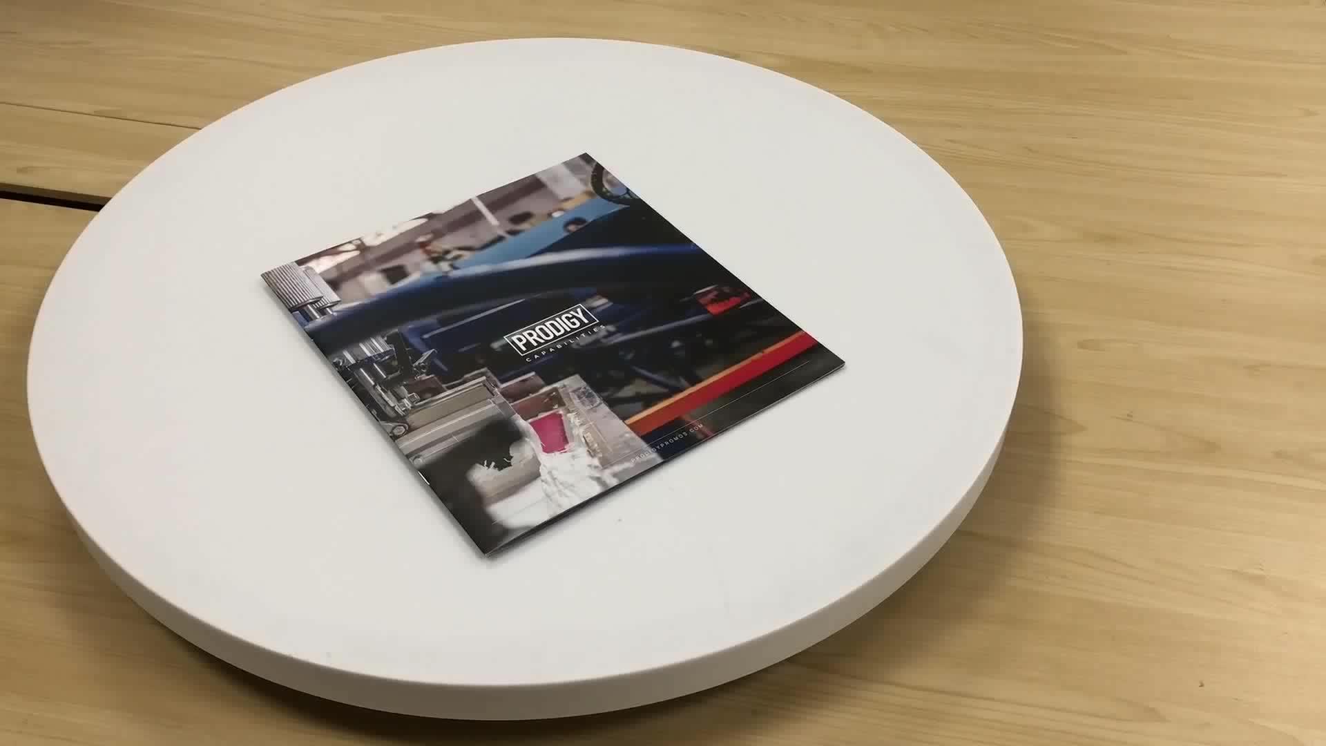경쟁력있는 가격 색상 책자 책자 전단지 전단지 인쇄
