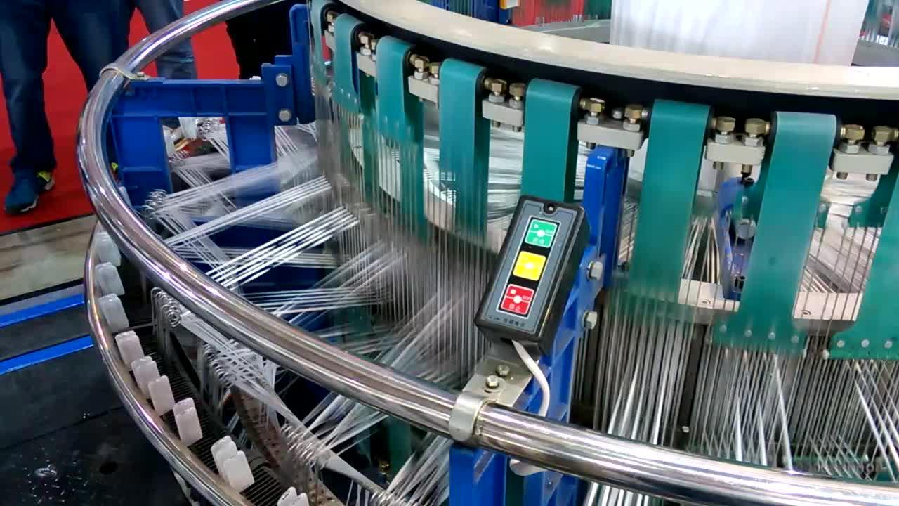 No.1 1 Weefgetouw machine automatische circulaire weefgetouw voor polypropyleen geweven zakken