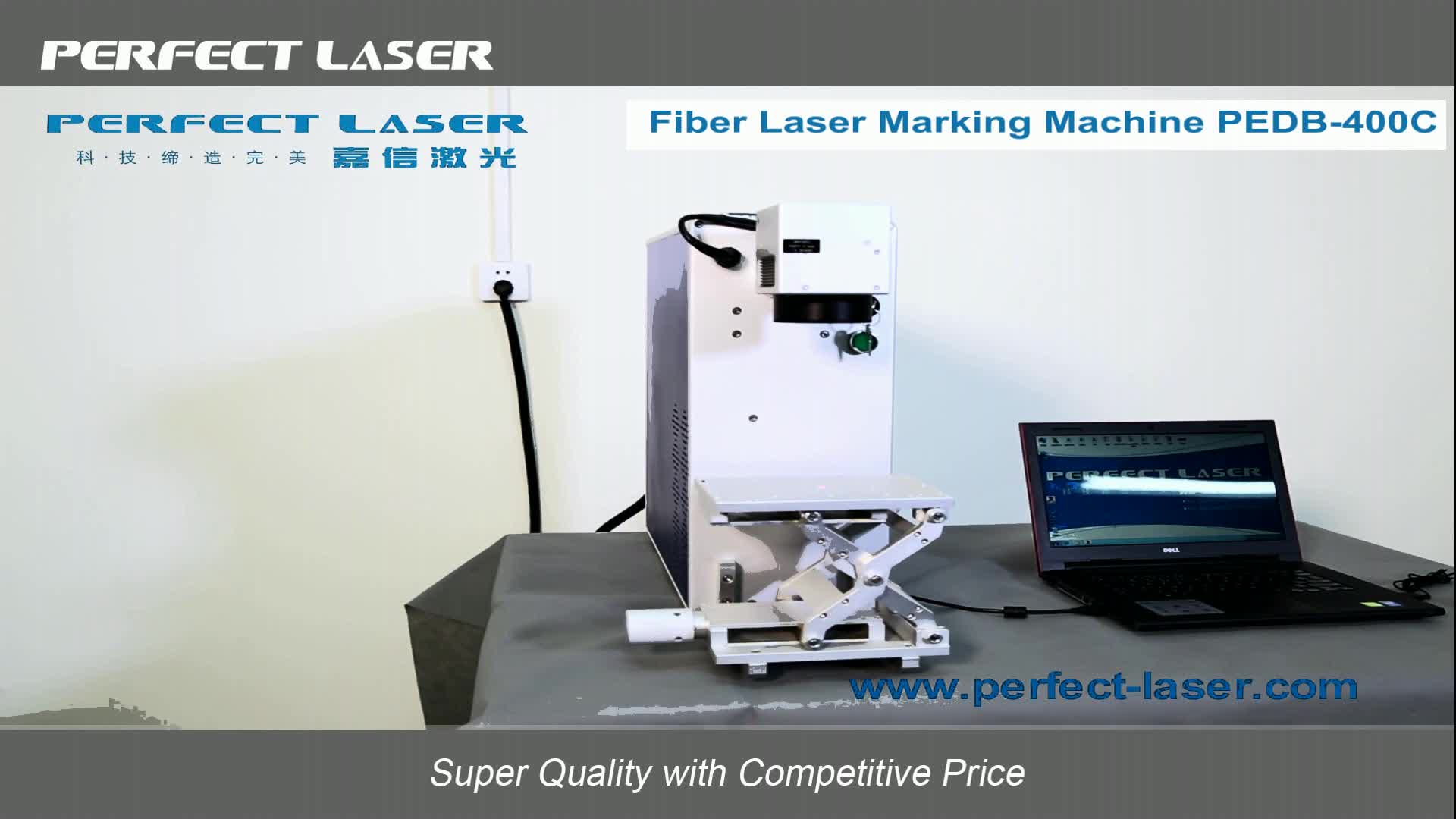 3 Years Warranty JPT RAYCUS 20W 30W 50W Color Mini Portable Fiber Laser Marking Machine for Metal Stainless Steel
