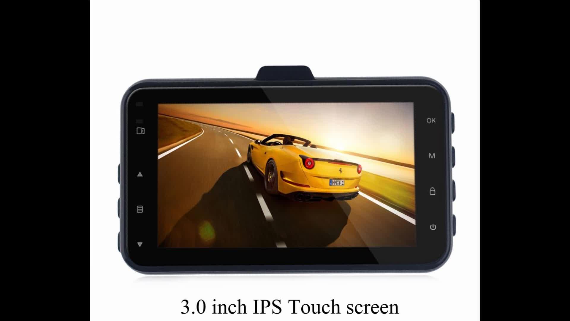 GPS 追跡駐車制御ダッシュカム G6 プライベートモデルブラックボックスフル HD1296P 車カメラ ADAS デュアルカム G センサー