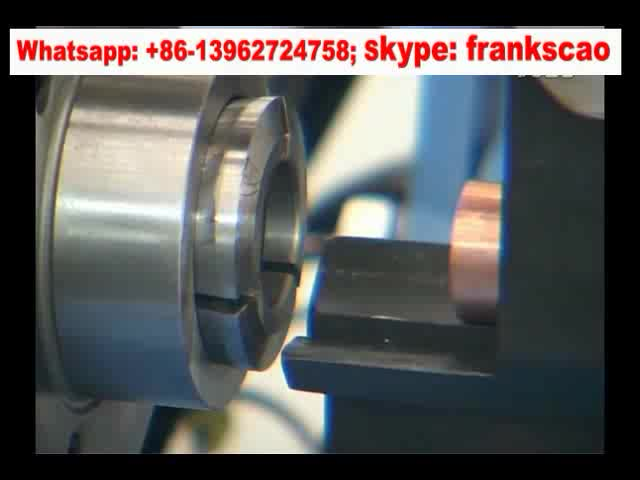 CNC drier filter copper tube spinning machine for refrigerator & air conditioner