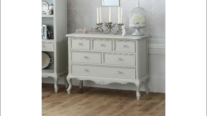 high quality white wooden 3 drawers bedroom bedside table cabinet