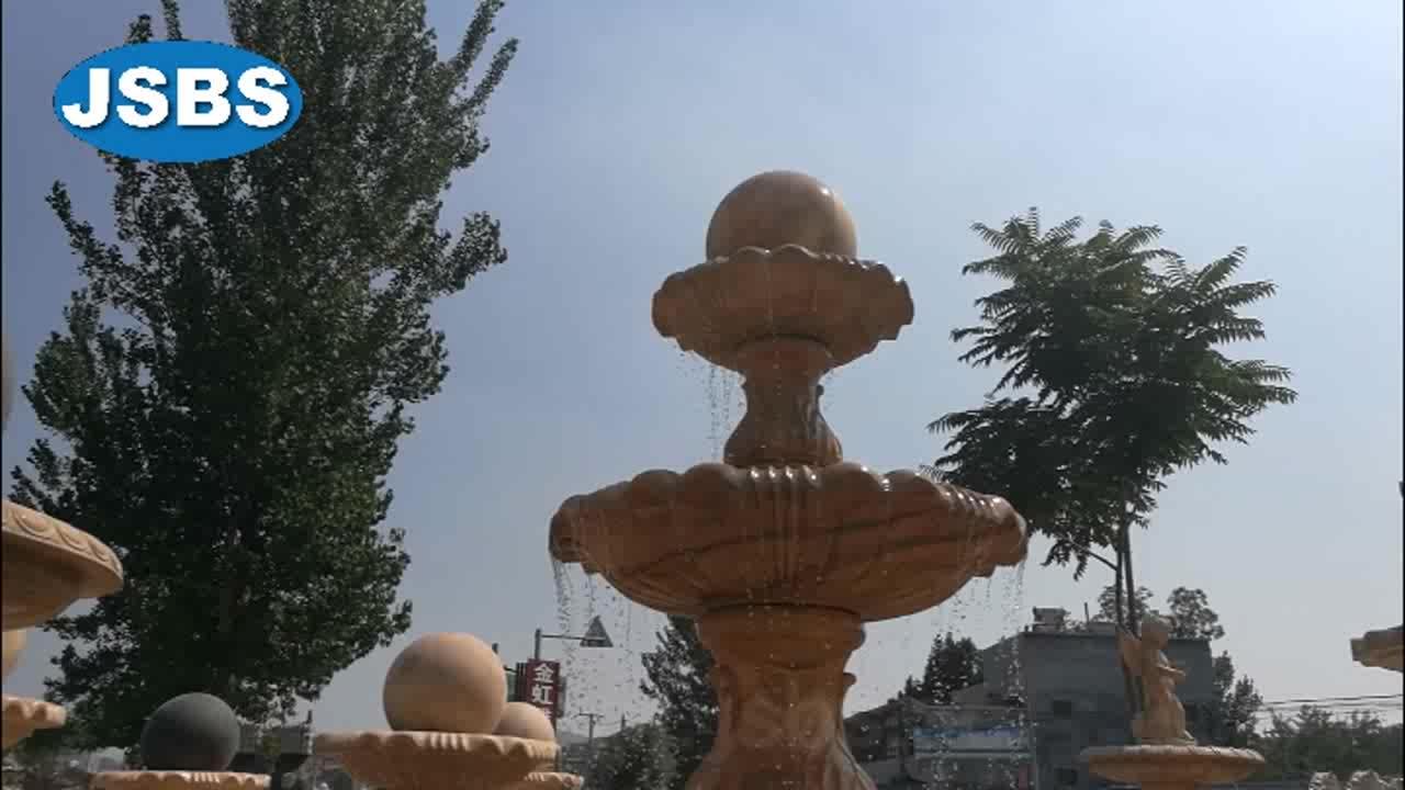 Water fontein bol fontein globe fontein