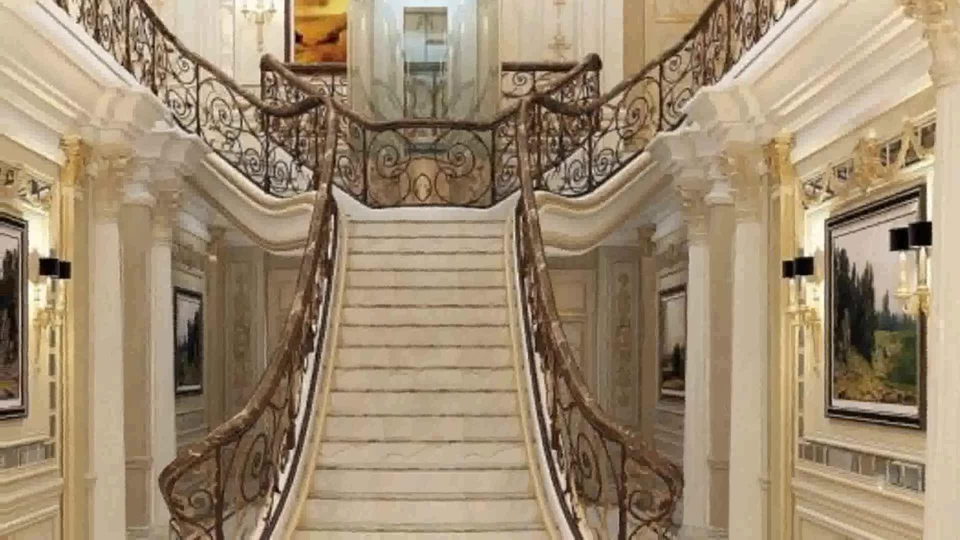 Foyer Luxury Brands : Luxury foyer design waterjet round marble tile floor
