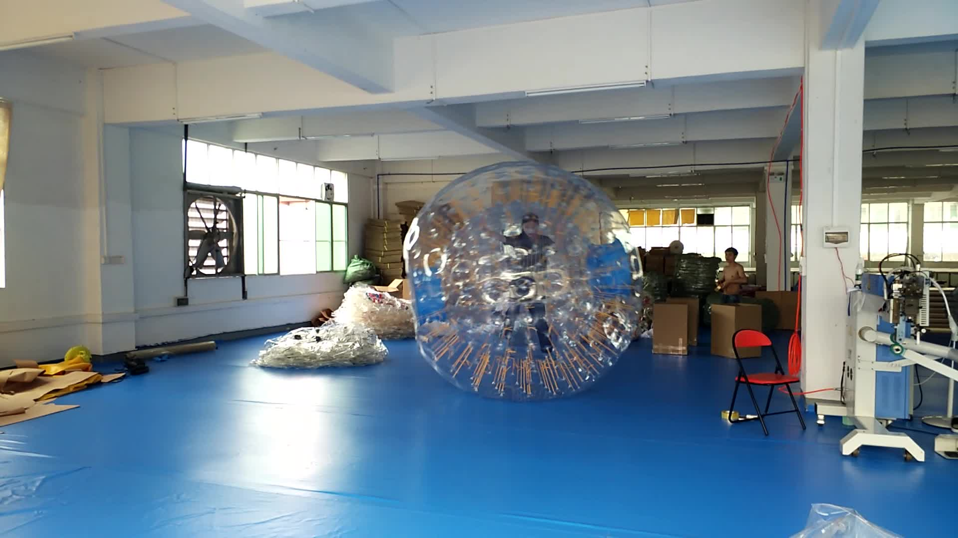 hot selling giant PVC inflatable land zorb ball / inflatable roller ball