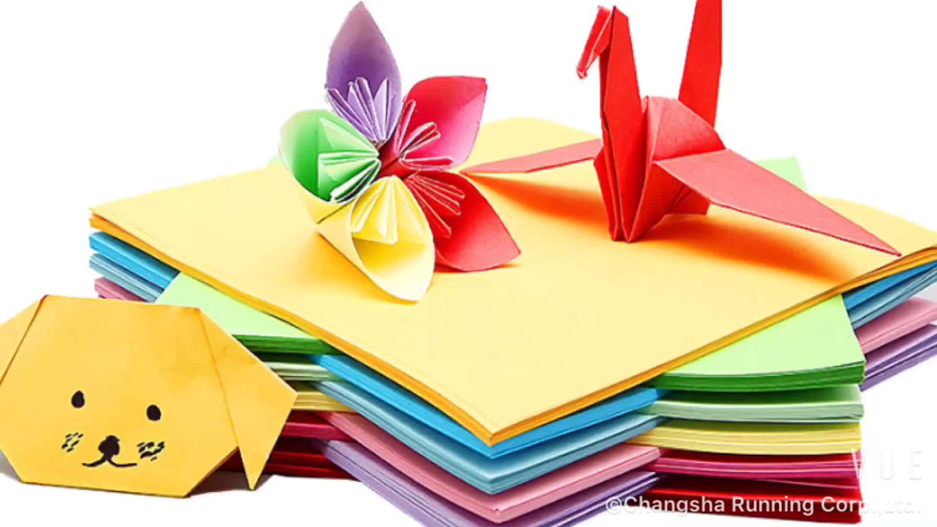 High Quality Origami Paper 500 Sheets Per Pack A4 Size For Card