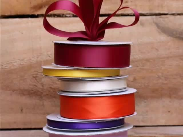 High Quality Custom Printed Cheap Satin Ribbon
