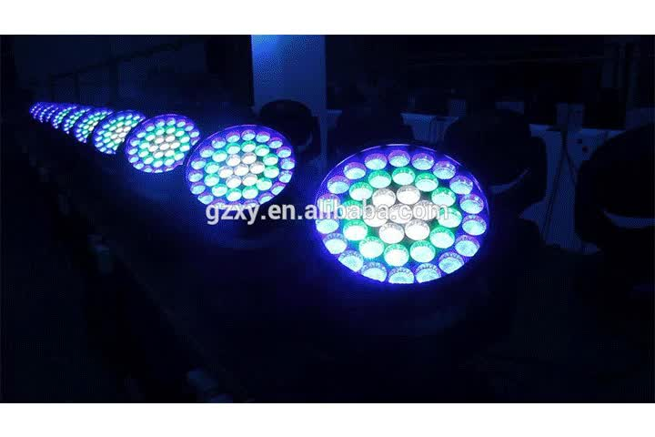 RGBW LED  600w  high quality stage light 37*10w with more than 10 years experience
