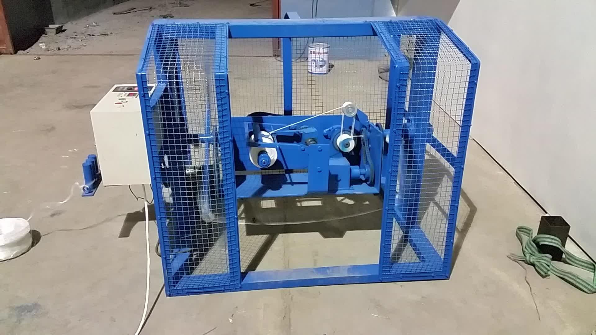 Plastic Rope Twisted Twine Spool Winding Machine