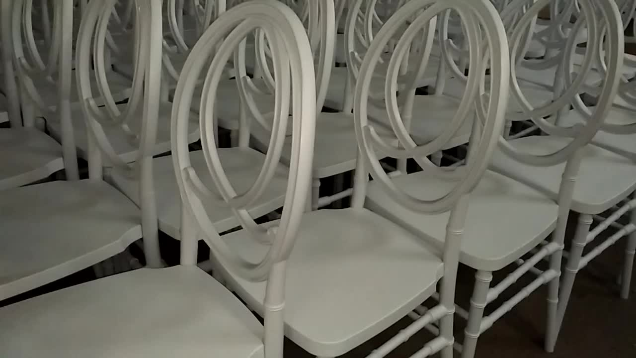factory supply wholesale wedding resin phoenix chair