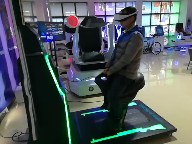 New equipment 9d vr horse riding simulator with real riding feels