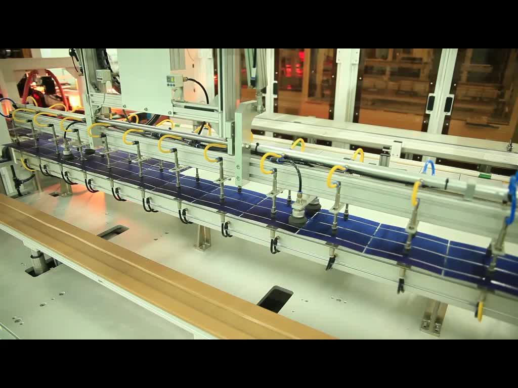 Wuhan Ooi complete solar panel production line for sale Complete solution for the manufacturing of solar panels