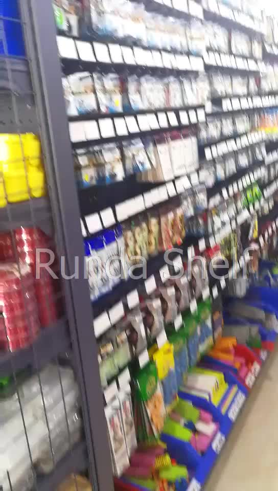 grocery store retail display shelving shelves accessories supermarket interior design/rack/equipment