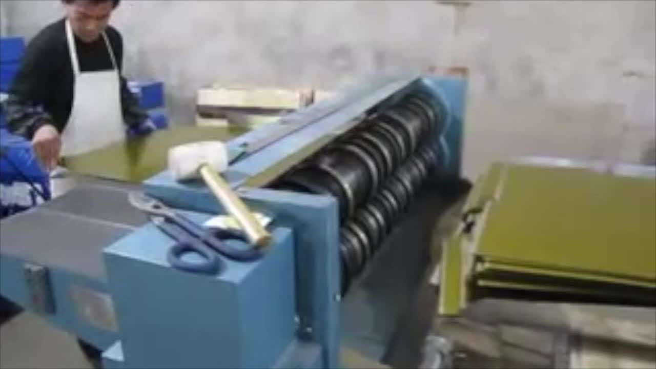 Tailor Made Steel Plate Cutting Machine for Canmaking