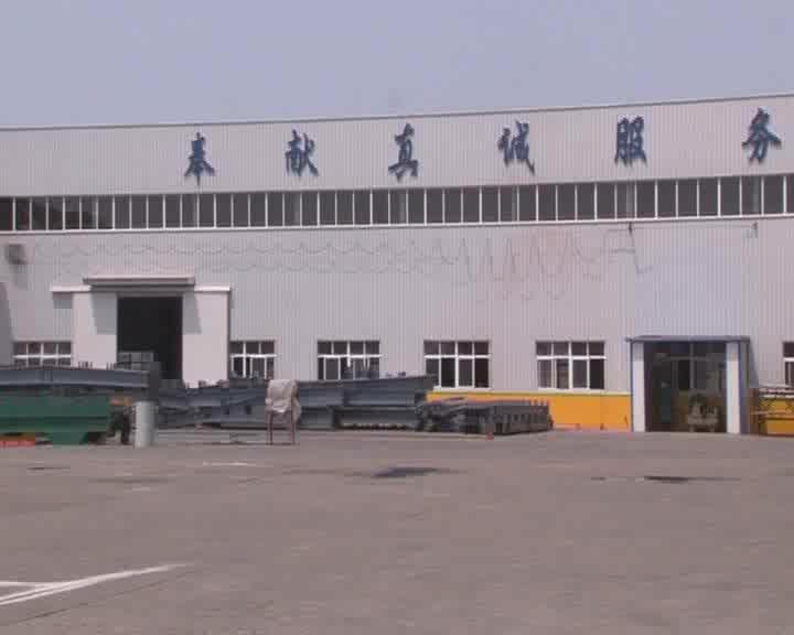 Leggera Struttura In Acciaio prefabbricata Cina Capannoni di Stoccaggio In Metallo