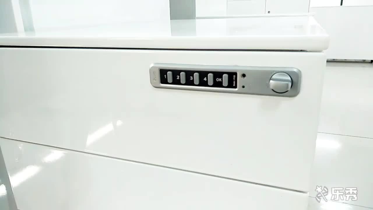 사무용품 A4 파일 캐비닛 3 서랍 휴대 받침대