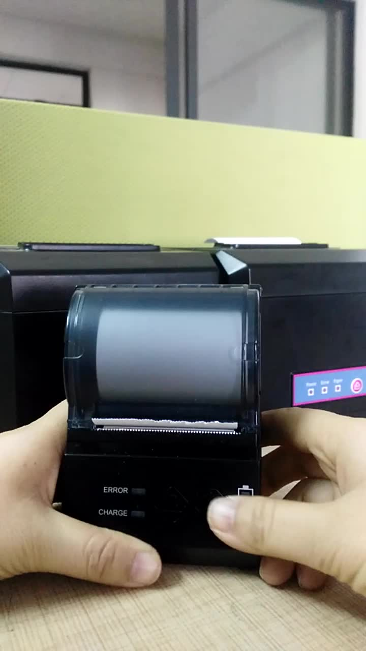 China Supplier 58mm Portable Bluetooth Mobile Thermal Receipt Ticket Printer HOP-E200