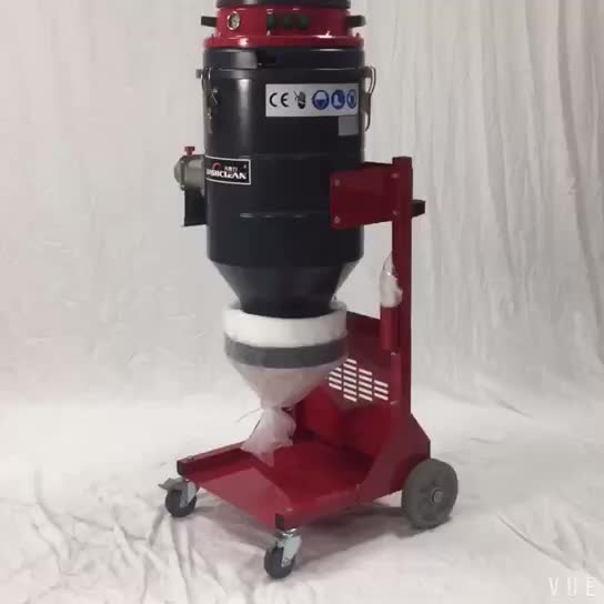 pulse dust collector vacuum cleaner for industrial use