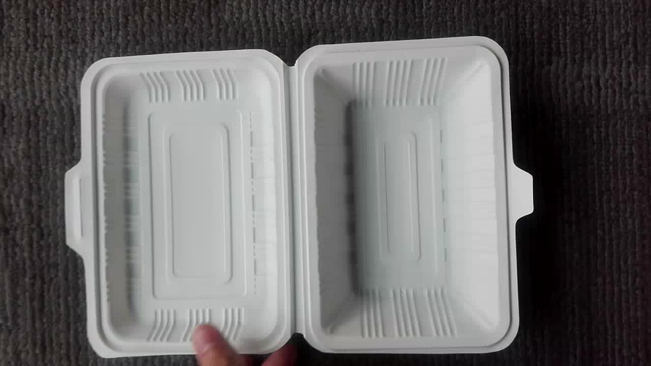 600ml eco-friendly disposable heat resistant food container