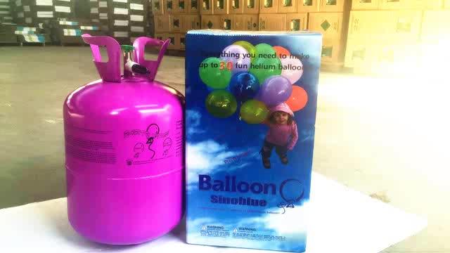 22.5L réservoir d'hélium Jetable, cylindre de gaz d'hélium pour ballons hélium bouteille