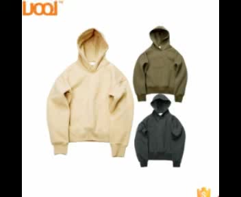 LuoQi Branded Best Selling High Quality 100 Cotton Unisex More colour Blank Hoody Plain Bulk Pullover Hoodie