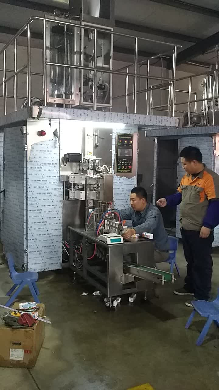 Manufacturer Automatic Liquid Water 200ml Carton Packing Machine Aseptic Filling Machine For Milk