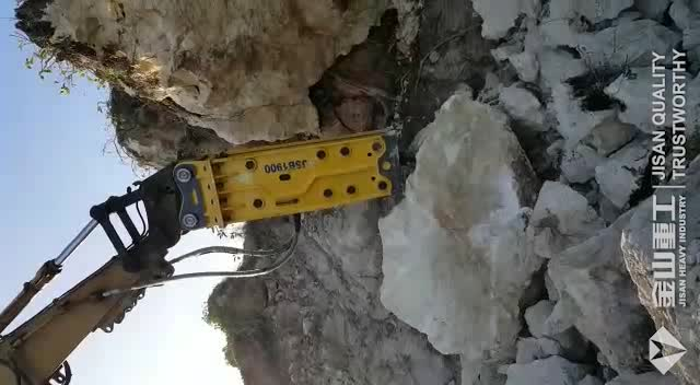 10 Ton Excavator Breaking Machine Silence Type Hydraulic Rock Hammer