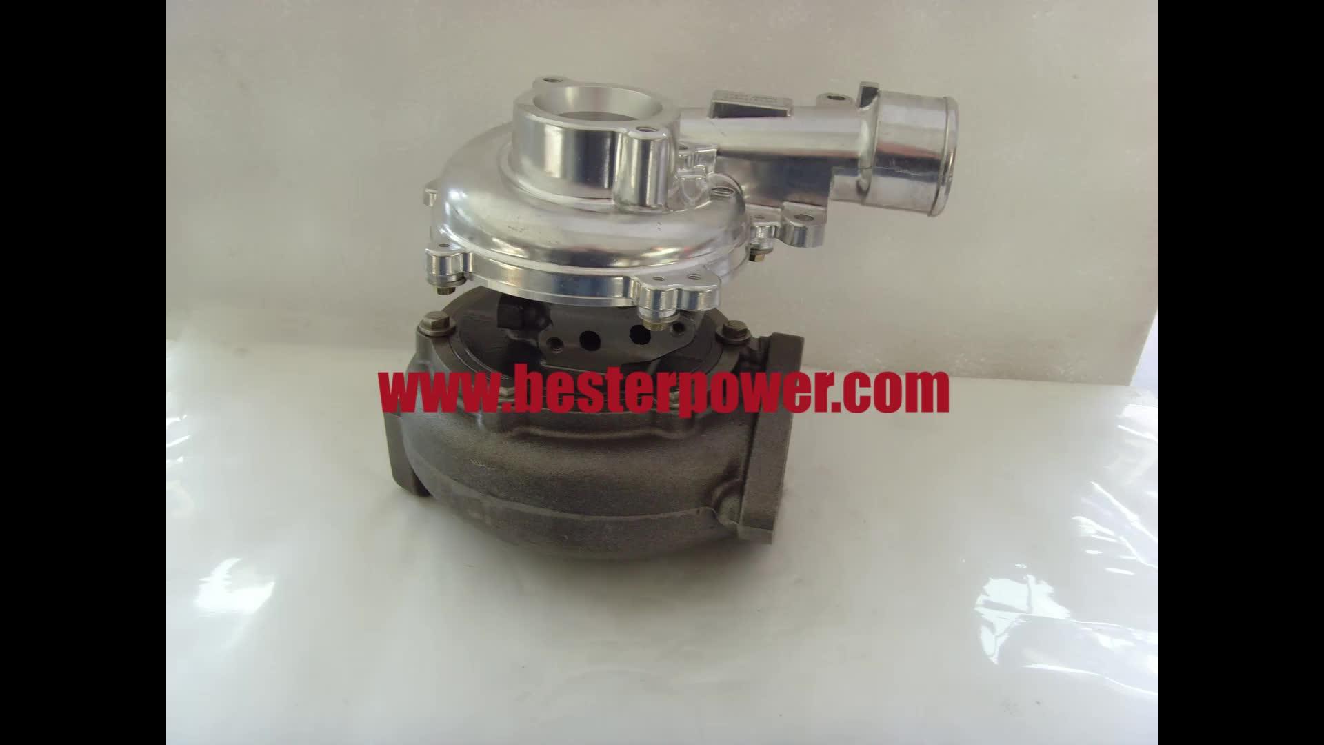 17201-0l040 172010l040 17201-30110 1720130110 turbo turbocharger para Toyota KZN130 1KD-FTV motor CT16V dentro de atuador elétrico