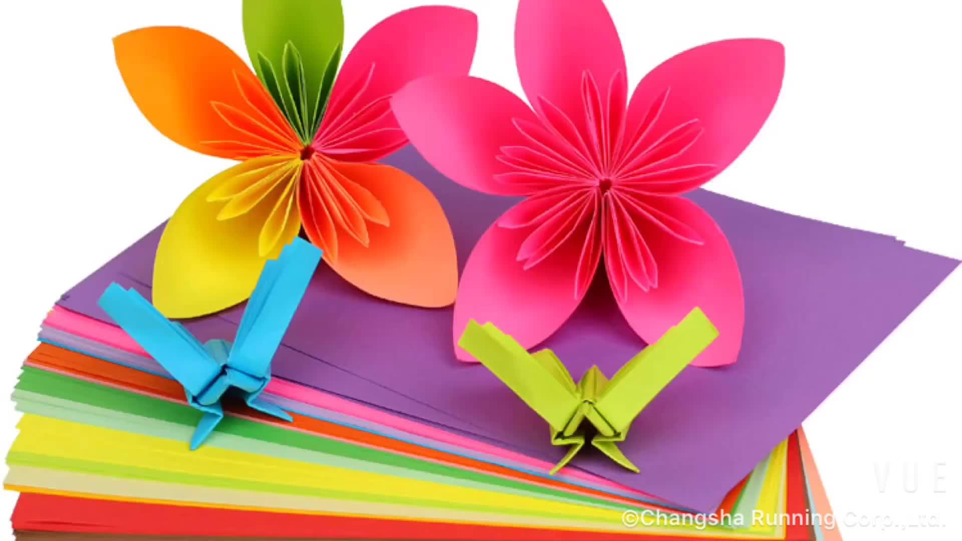 Colores surtidos 500 hojas por paquete A4 papel de Color