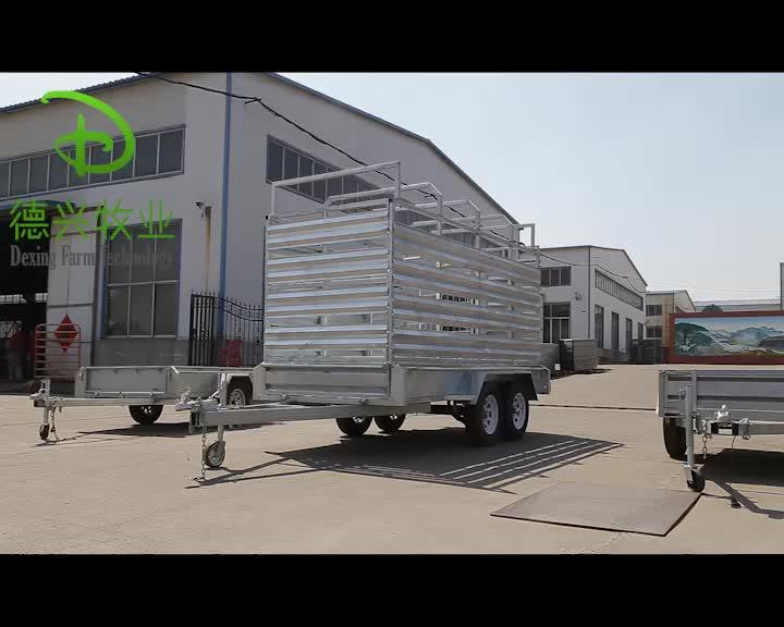 Heavy Duty Loader Car Trailer