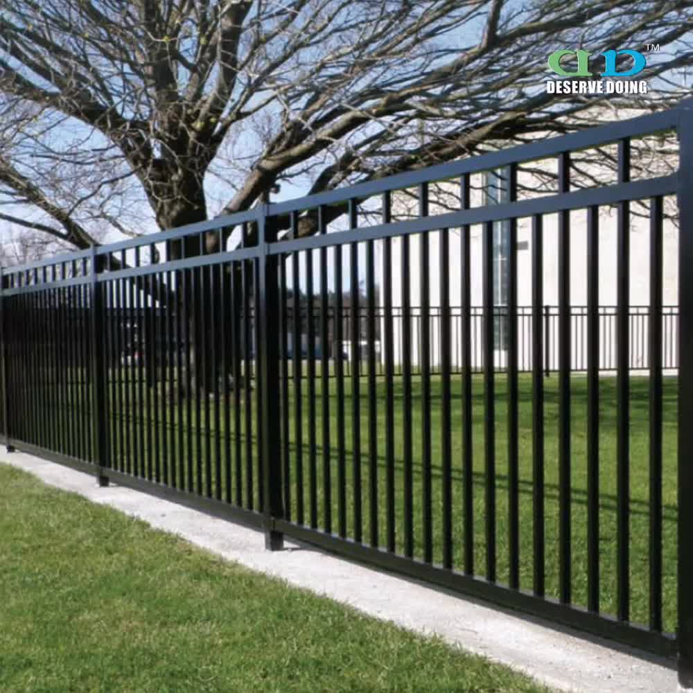 Ameristar montage plus iron fence panels fencing