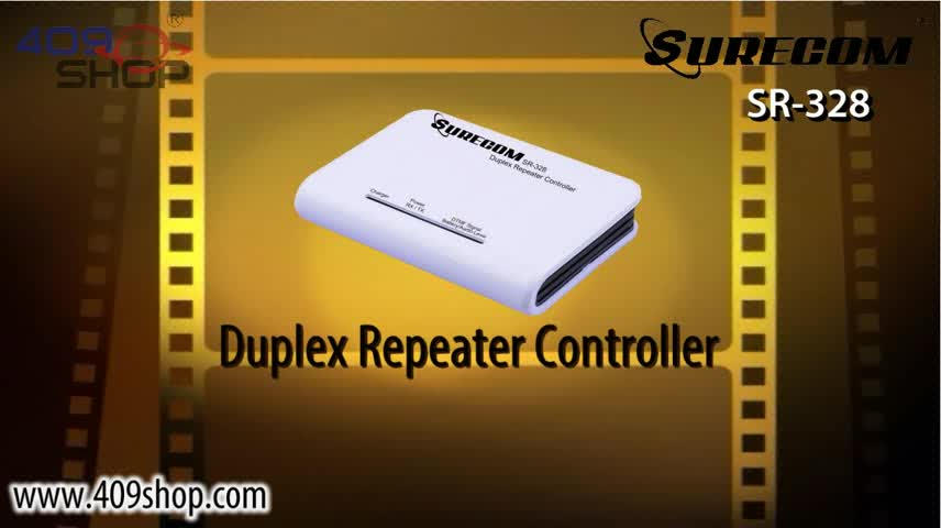 Surecom SR-328 with Cable K plug Radio Duplex Repeater Controller