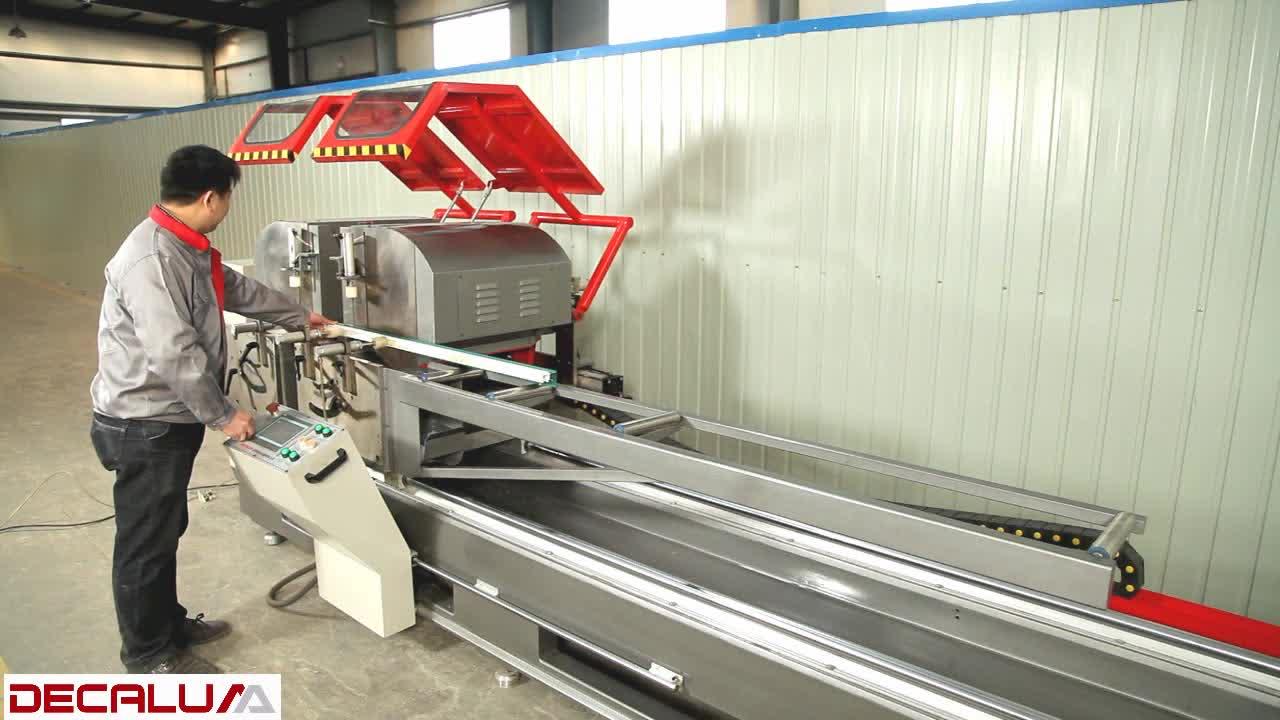 Aluminium Window Deur Maken Machine Automatische Snijden Profielen