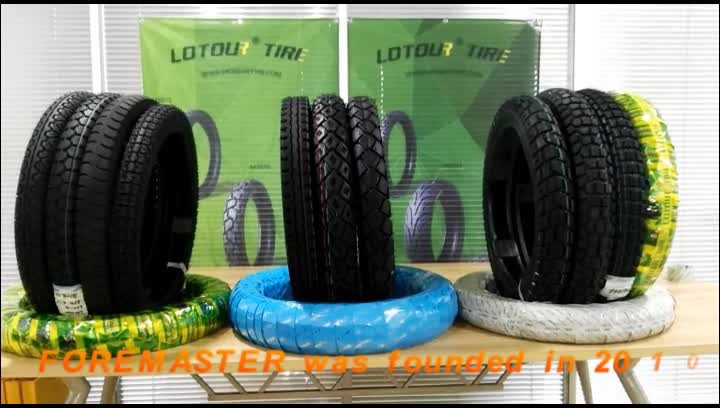 Lotour Brand China Manufacturer Motorcycle Tyre 3.00-17