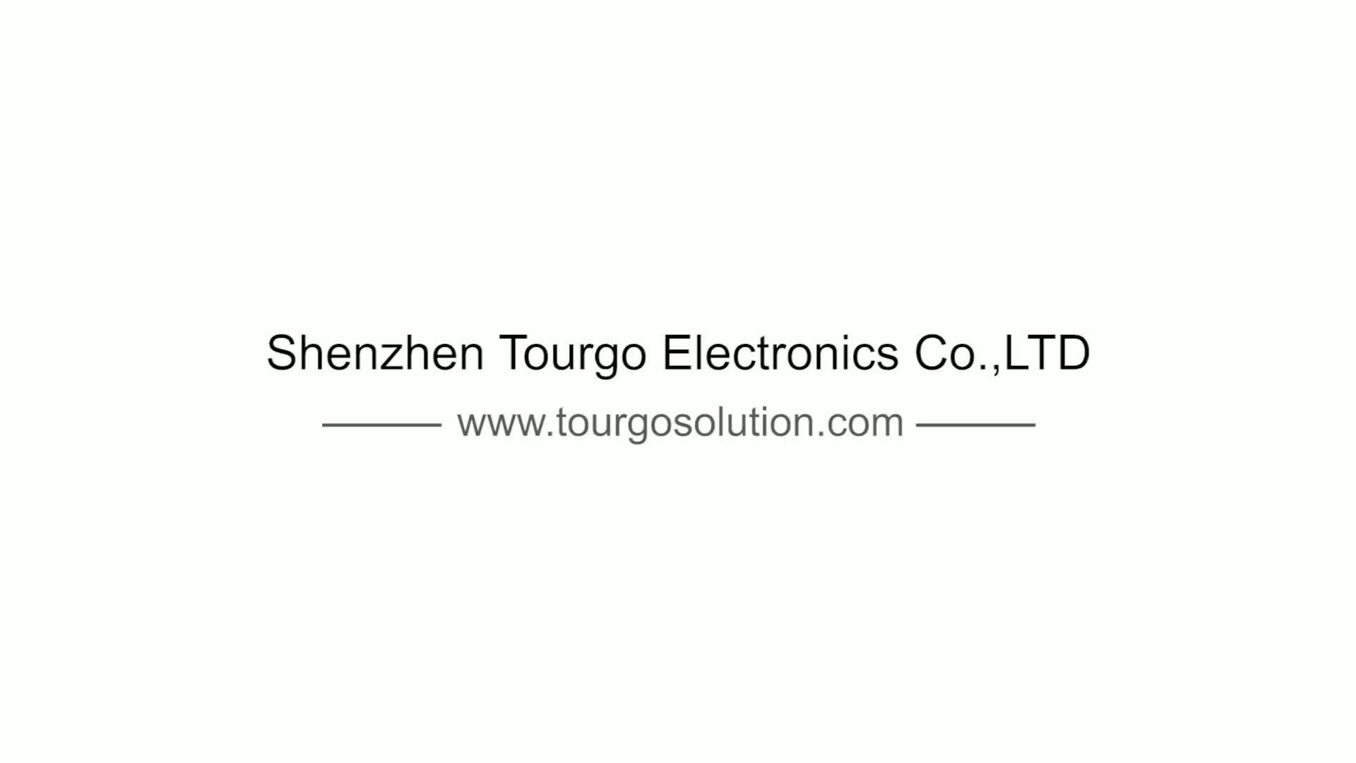 TourGo Donkergrijs Drie Persoon Lichtgewicht Tolk Booth Voor Audio Conferentie Systeem