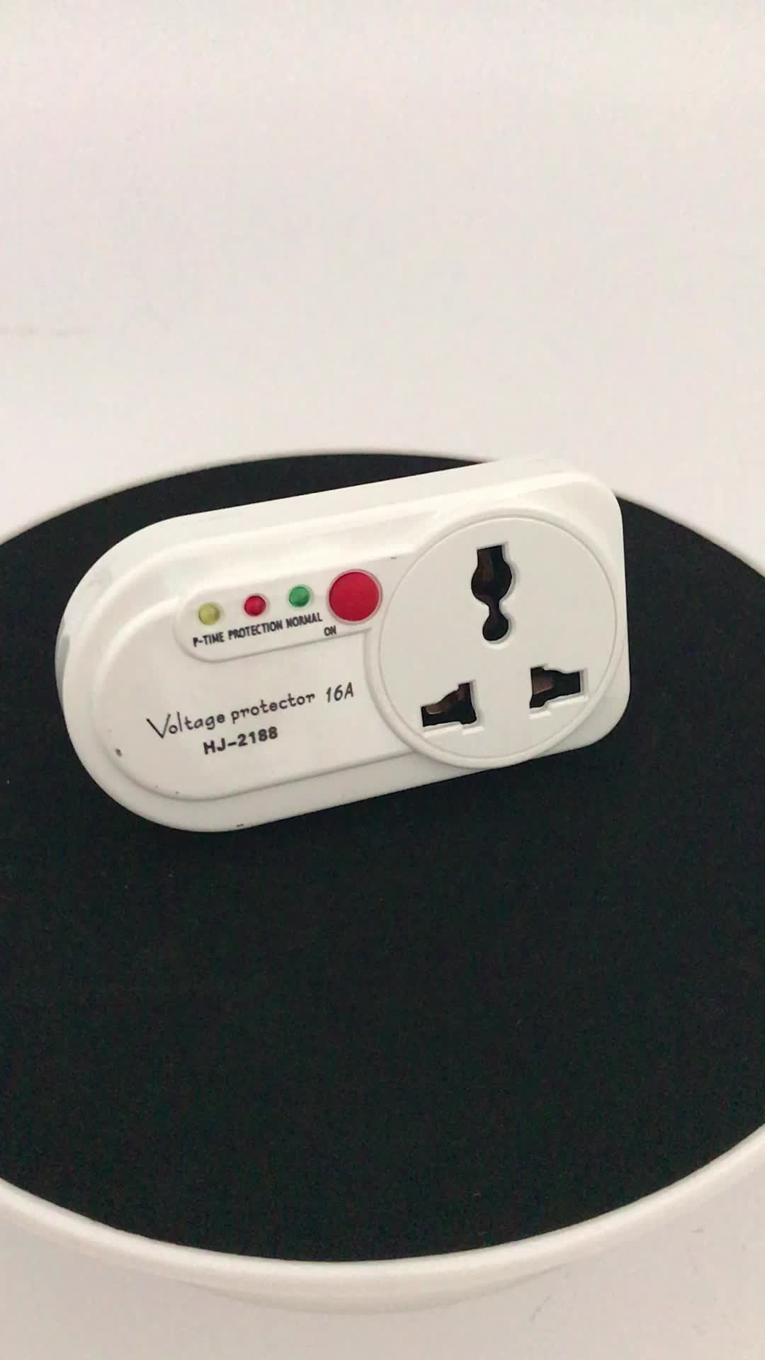 Huijun Brand 16a Home Use Appliance Tv Guard Voltage Protector Buy Electronic
