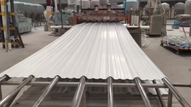 Anti-corrosion UPvc Plastic Roof Sheet /Trapezoidal PVC Roofing Sheet building material/3 layer UPVC Roof sheet 960mm/pvc tejas