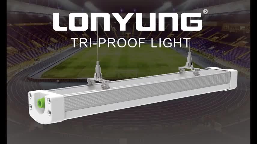 Lonyung linkable IP66 LED out door light tri proof led light with TUV CE SAA