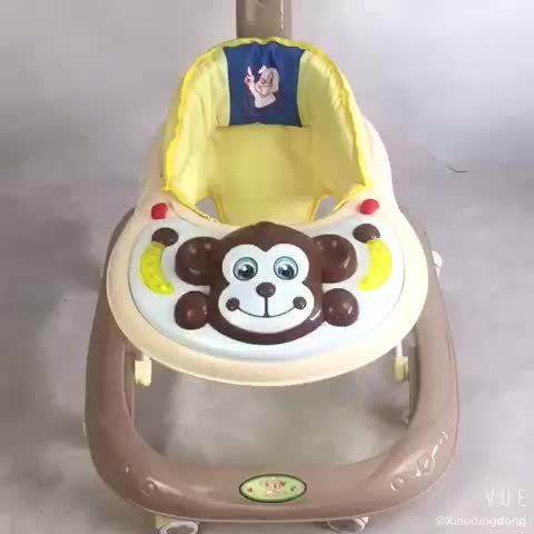 New baby walker for sale/baby product with 8 wheels and ce certification multi fuctions baby carriage for sit to stand