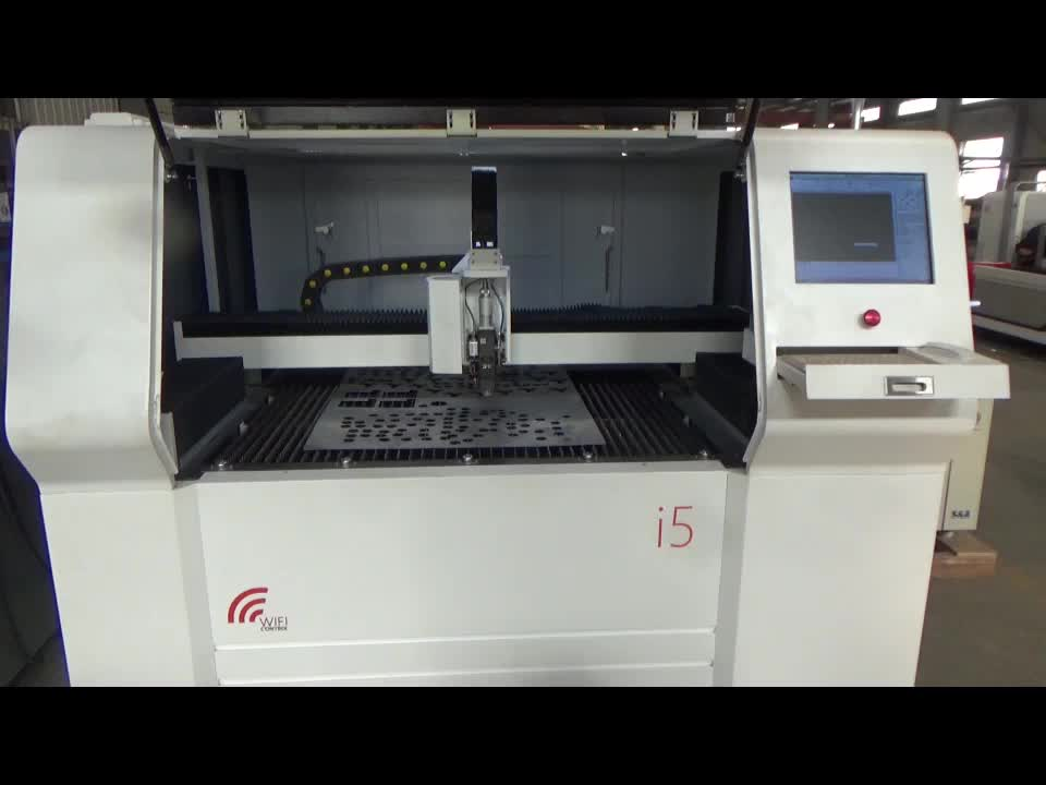 1000w cnc metal laser cutting machine with iron bed