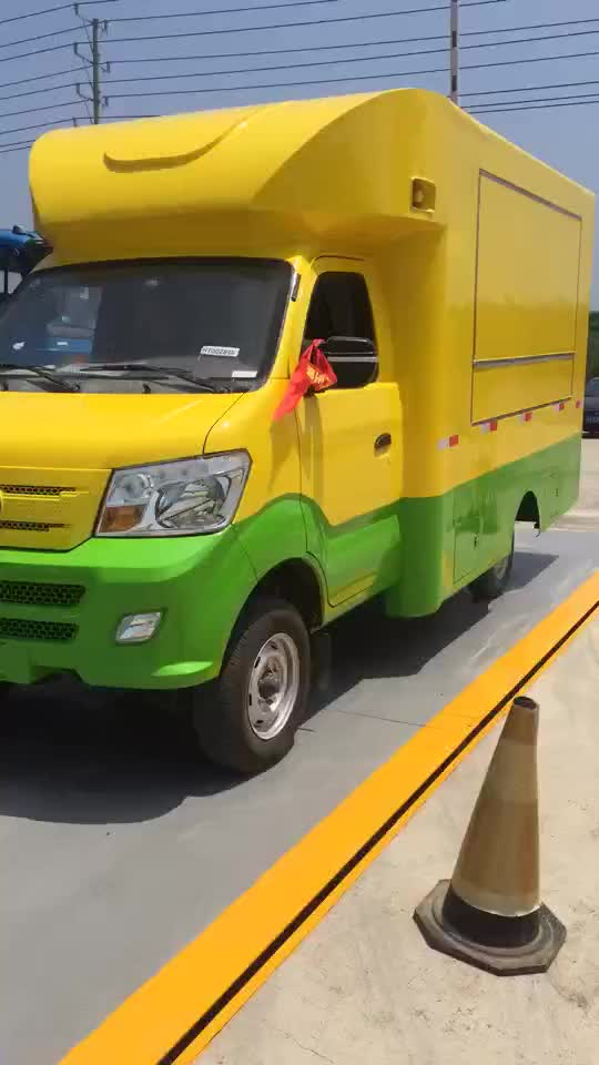 Cheap High Quality fast mini food truck for sale in malaysia