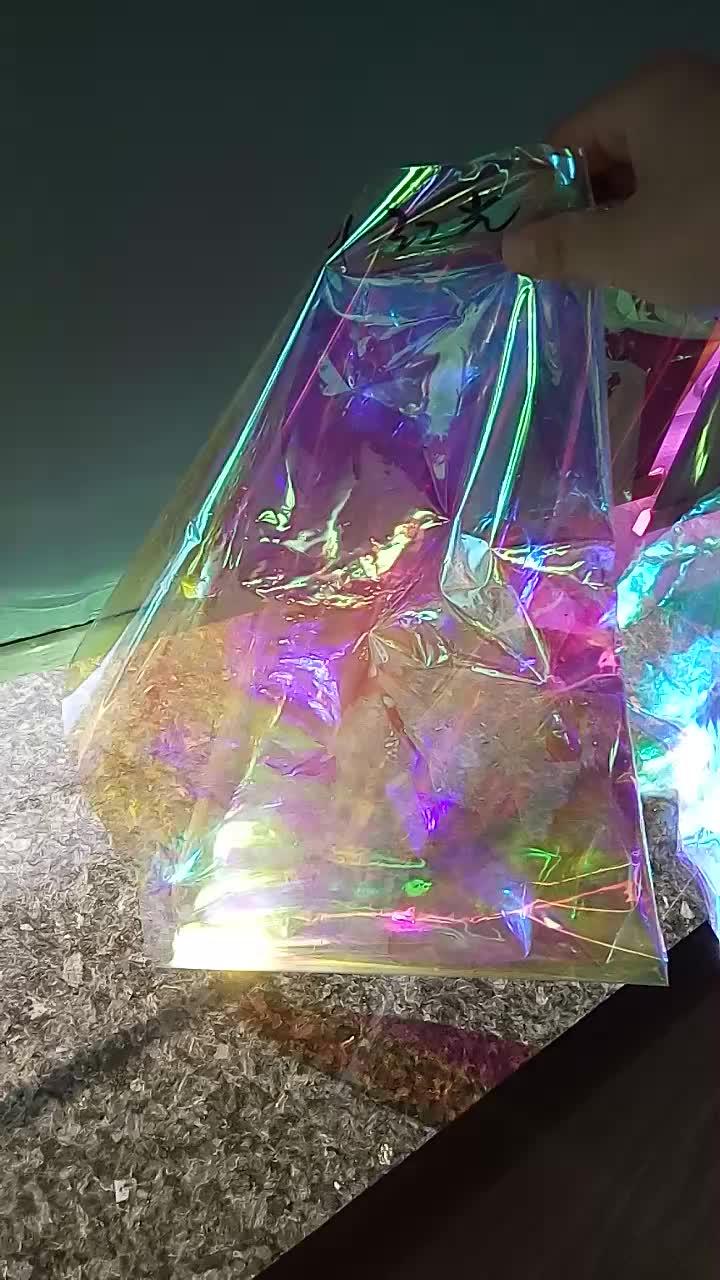 22micron Iridescent Mylar Film Roll Makes Gorgeous Looks for Art Design