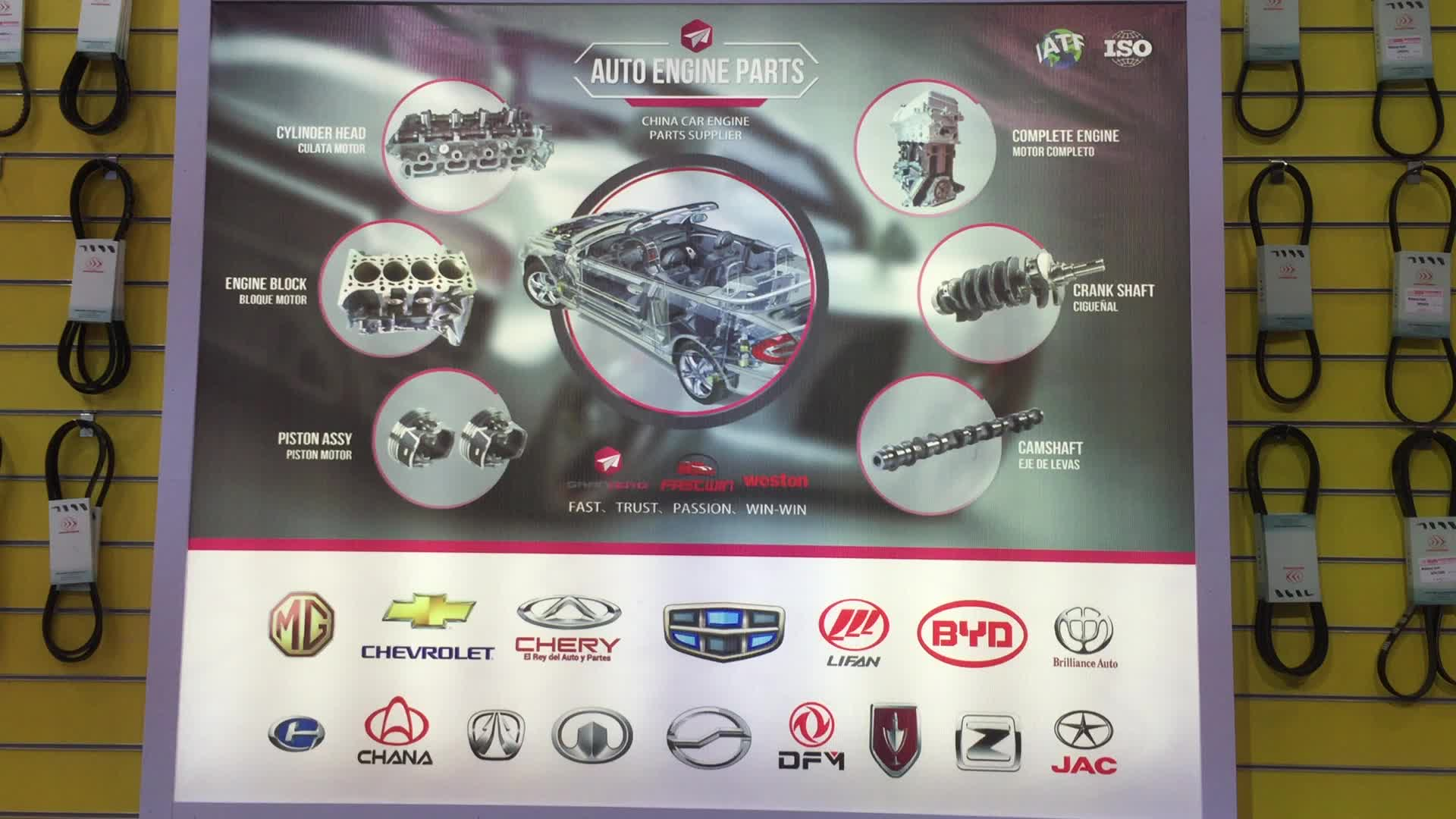 China Car Parts for Chevrolet N300/N200 Van