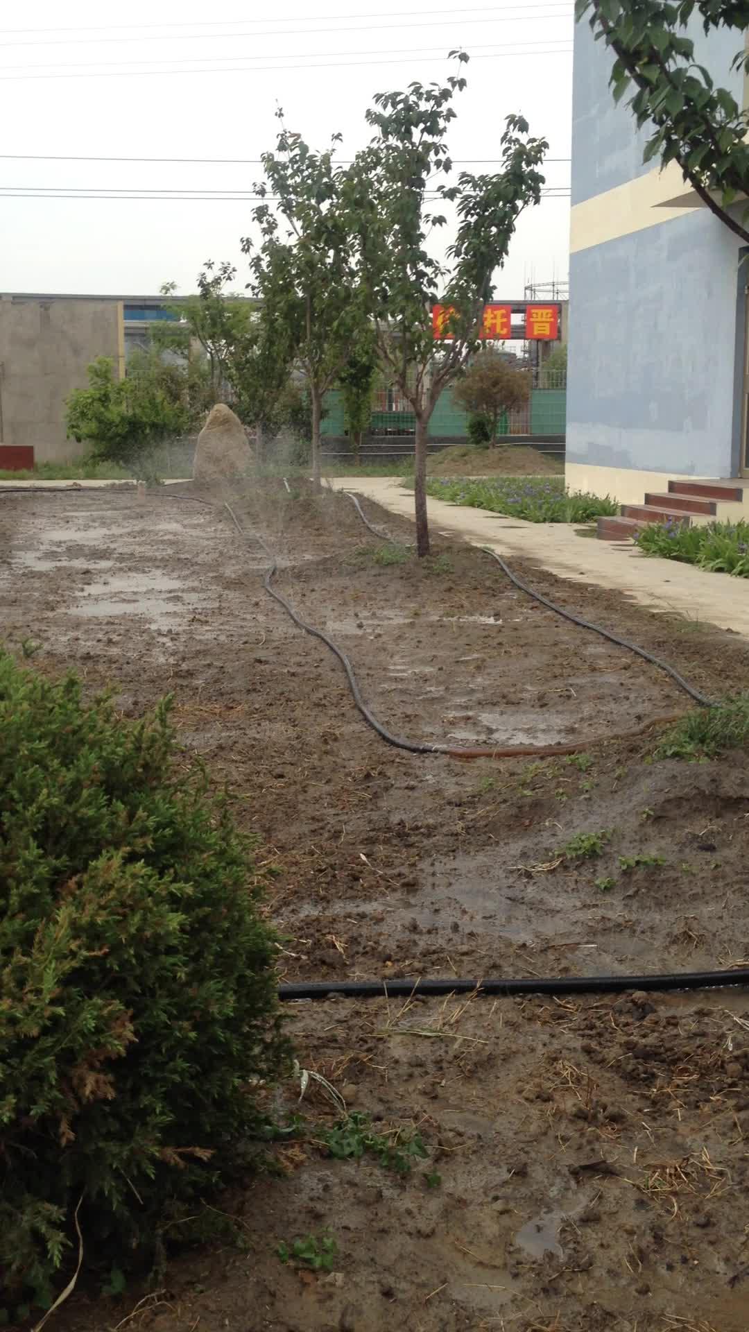 LASER PRINGING GREENHOUSE WATER SAVING MICRO SPRAYING PE HOSE