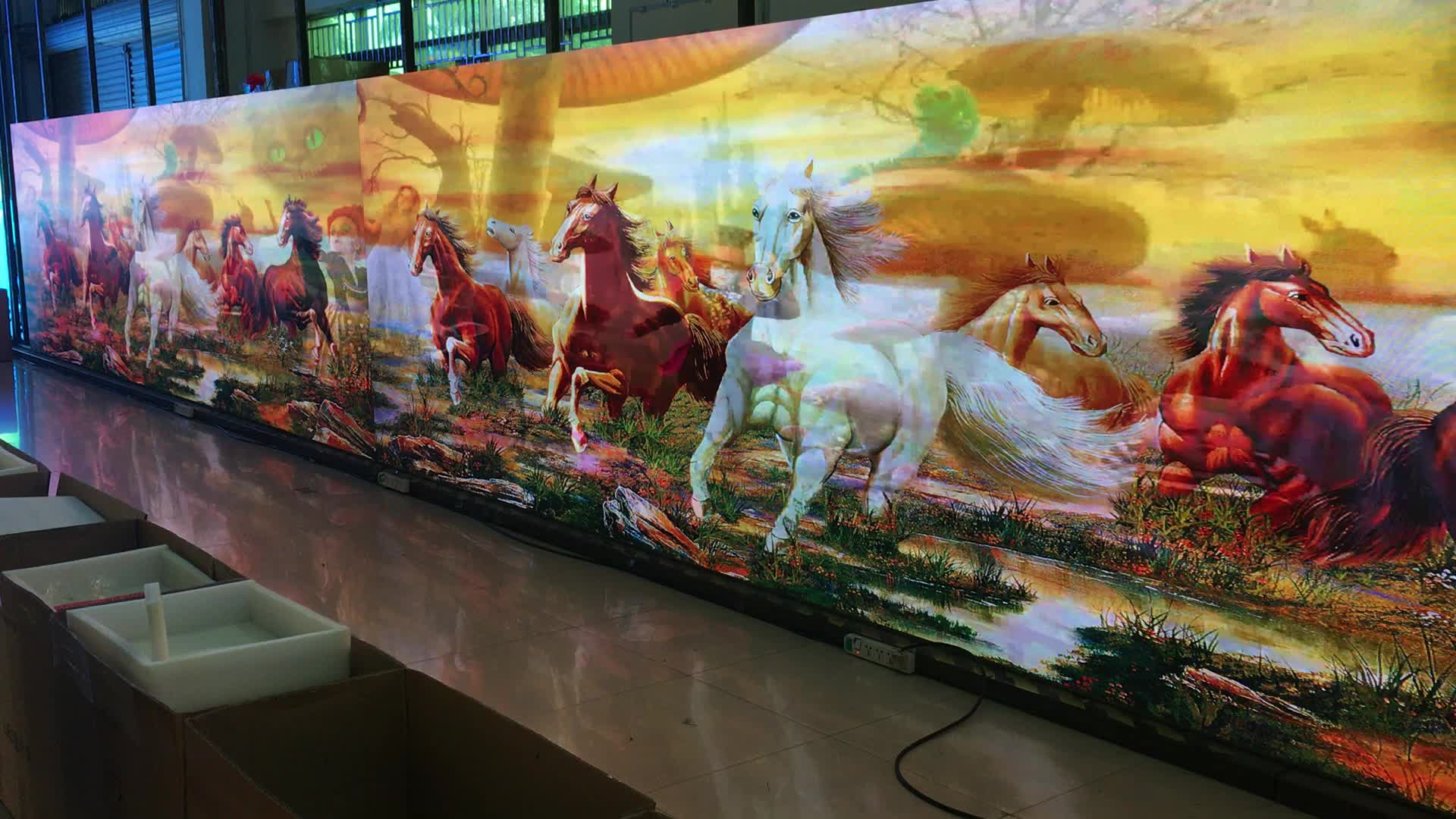 stock screen curved rental stage led wall hd outdoor tv p4 p4.81 outdoor led display full color smd led screen panel price