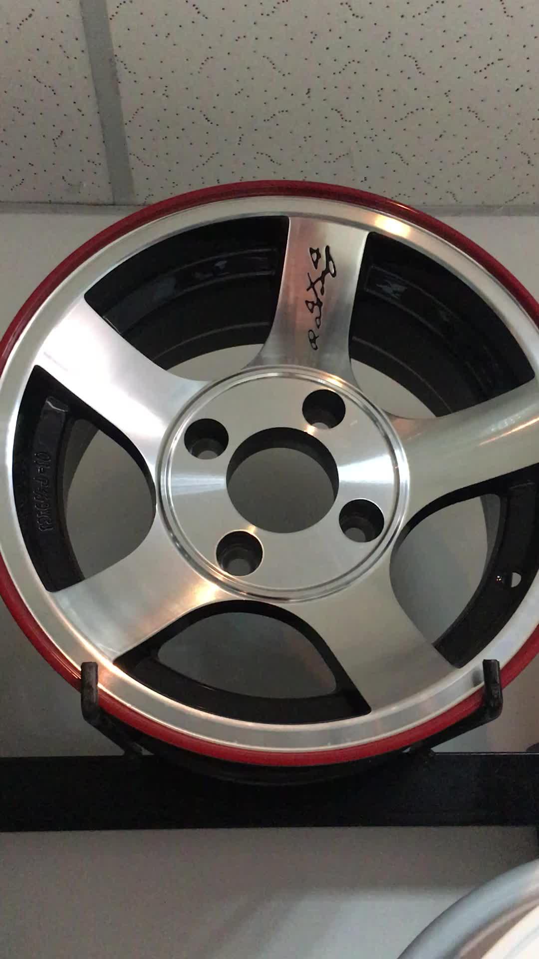 Replika Auto 5x130 paduan aluminium roda rim untuk mobil