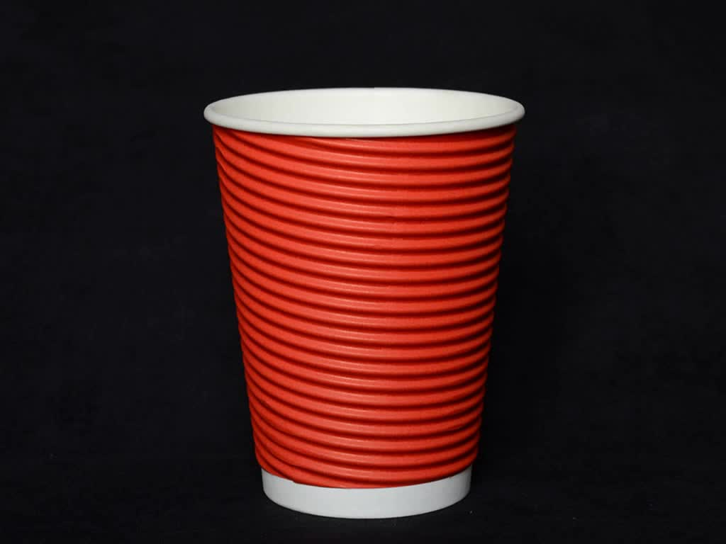Best Price 8 Oz 12 16 Corrugated Ripple Wall Paper Coffee Cups